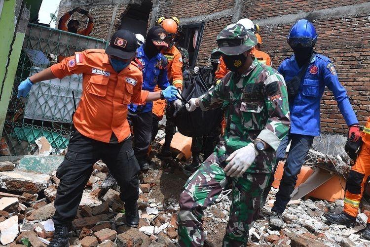 BNPB Laporkan 84 Orang Meninggal Akibat Gempa Sulawesi Barat