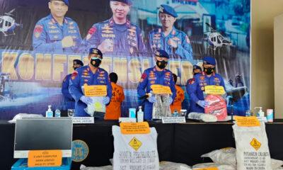 Polda Jatim, Ungkap Kasus Bahan Peledak