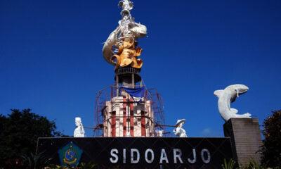 Wisata Indah Untuk mengambil Spot Foto di Alun-Alun Sidoarjo