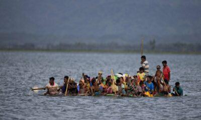 Penjaga Pantai India Menyelamatkan Warga Rohingya