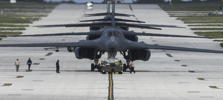 Amerika Menaruh Pesawat B-1 di Norwegia