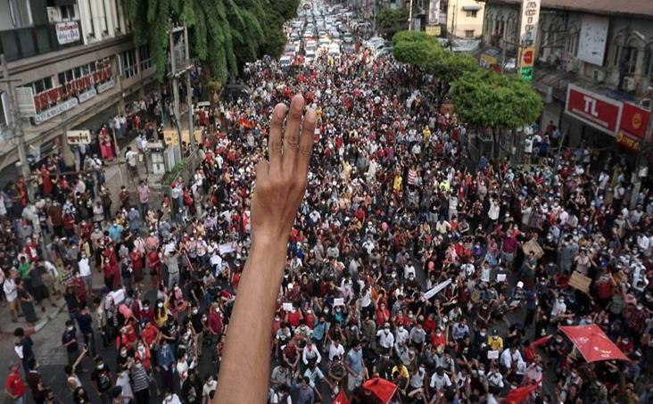 Warga Myanmar Akan Tetap Demo Walau Dilarang