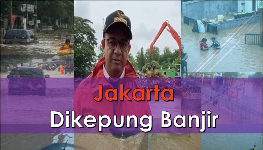 Jakarta Dikepung Banjir