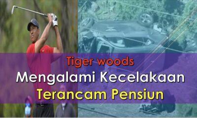 Tiger Woods Mengalami Kecelakaan Terancam Pensiun.