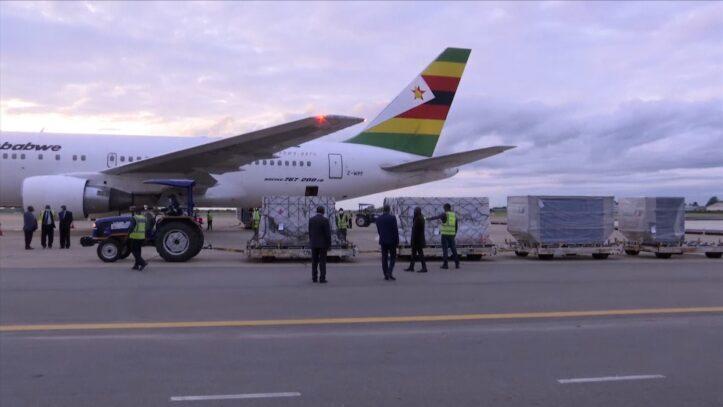Zimbabwe menerima 200,000 Vaksin dari Cina