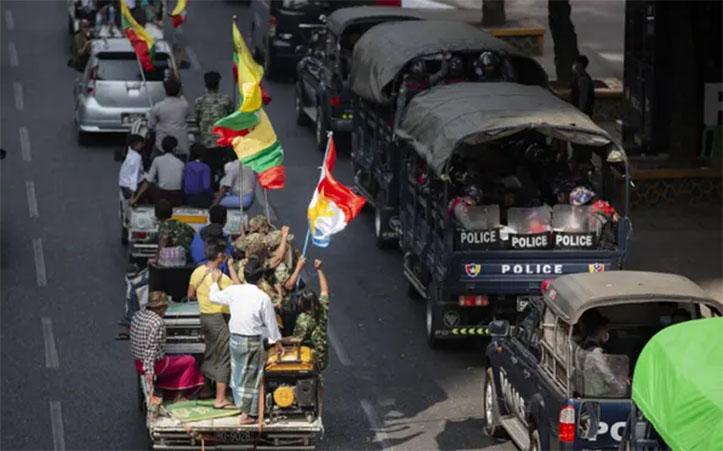 Myanmar Memanas: Kudeta Sedang Berlangsung