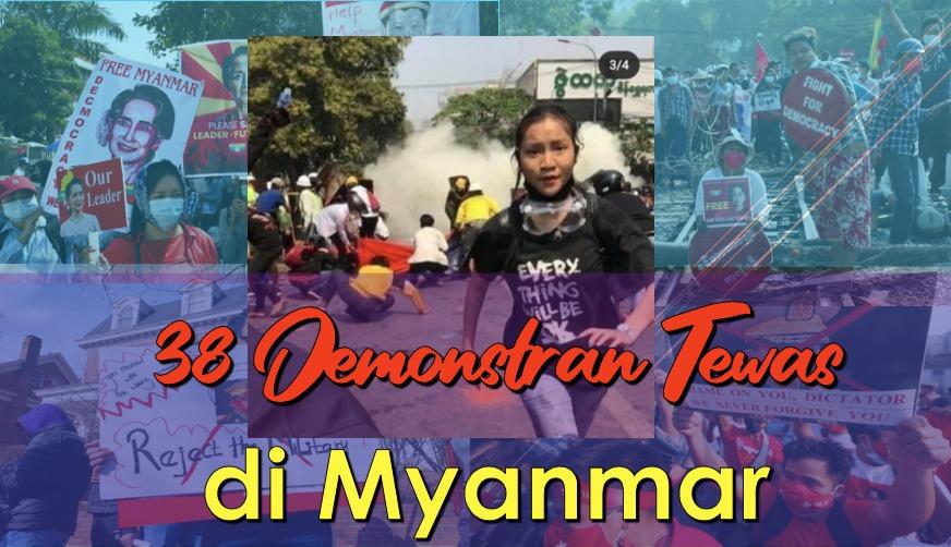 Myanmar semakin mencekam