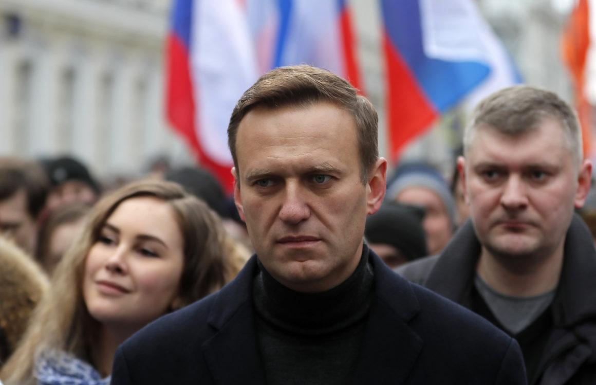 AS Menjatuhkan Sanksi kepada Mereka yang Meracuni Navalny