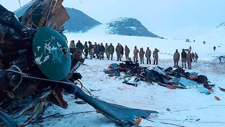 Helikopter Turki Terjatuh, 11 Orang Tewas