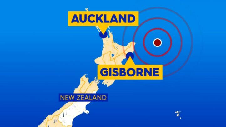 Gempa 8.1 SR Menghantam Selandia Baru