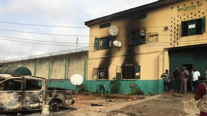 Penjara di Nigeria Diserang, 1,800 Napi Berhasil Kabur