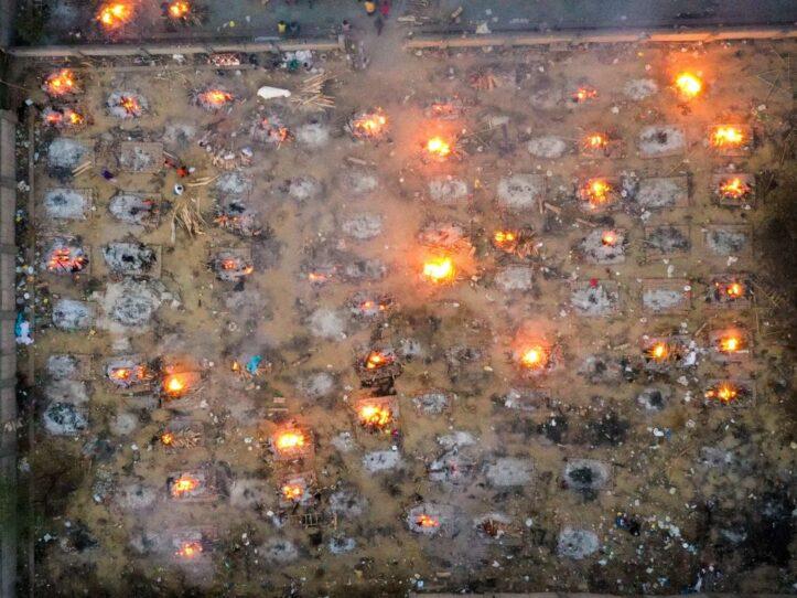 Krematorium India Penuh, India Kewalahan