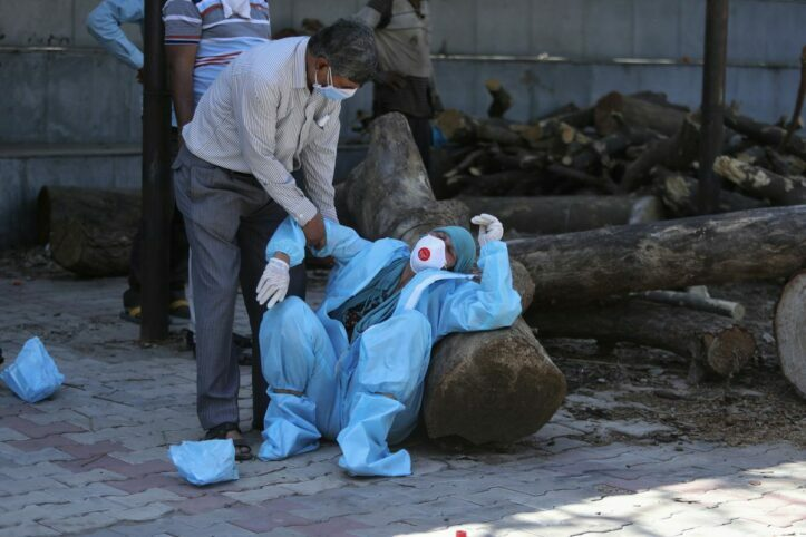 Korban Berjatuhan, Kasus Covid-19 India Semakin Memburuk