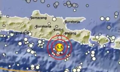 Minggu Pagi Gempa Susulan 5,5 Magnitudo kembali Guncang Malang