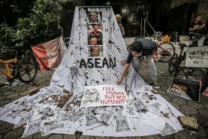 Aktivis Myanmar Tidak Setuju Dengan Pendekatan ASEAN