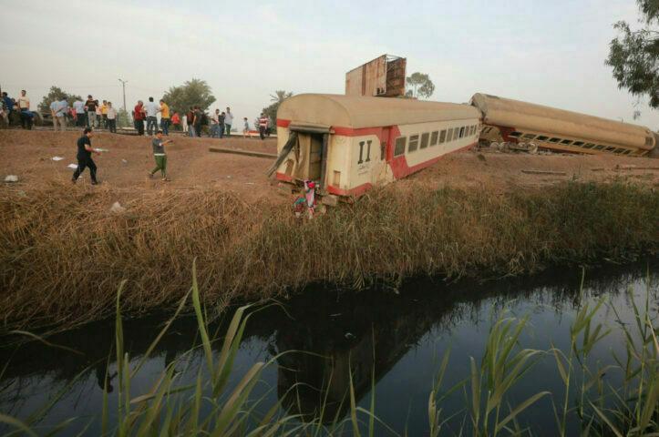11 Meninggal pada Kecelakaan Kereta di Mesir