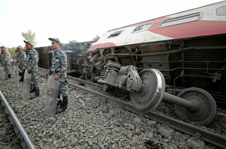 Korban Kecelakaan Kereta Api Mesir Naik Jadi 23 Orang