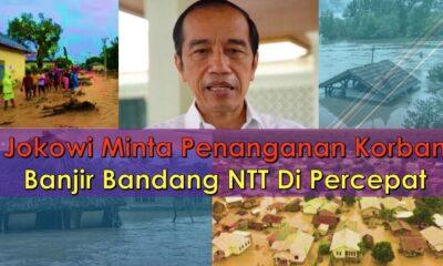 Jokowi Minta Penanganan Korban Banjir Bandang NTT Dipercepat