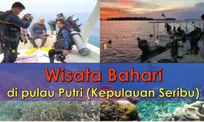Ayo Wisata Bahari di Pulau Putri (Kepulauan Seribu
