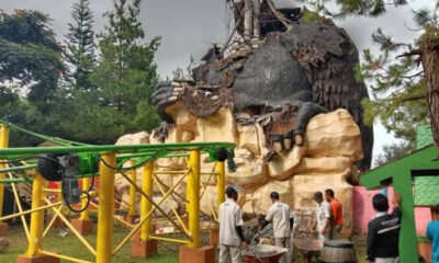 Icon Wisata Jatim Park 2 Hancur Akibat Gempa