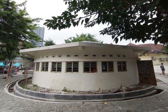 Restorasi Bunker Tegalsari Surabaya Diperkirakan Rampung Mei 2021