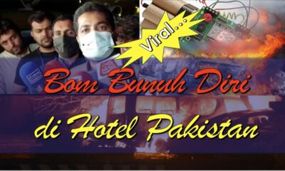 (Video) Bom Bunuh Diri di Hotel Pakistan