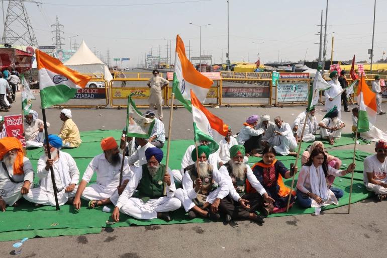 Ditengah Ancaman Corona, Petani India Terus Perjuangkan Haknya