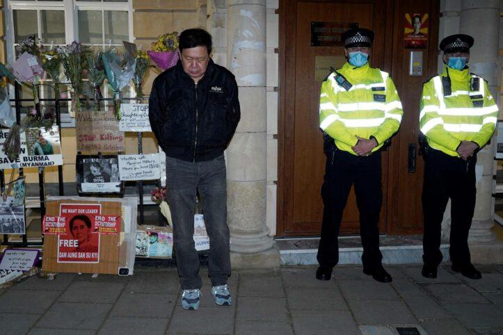 Kedutaan Myanmar di Inggris DiKudeta