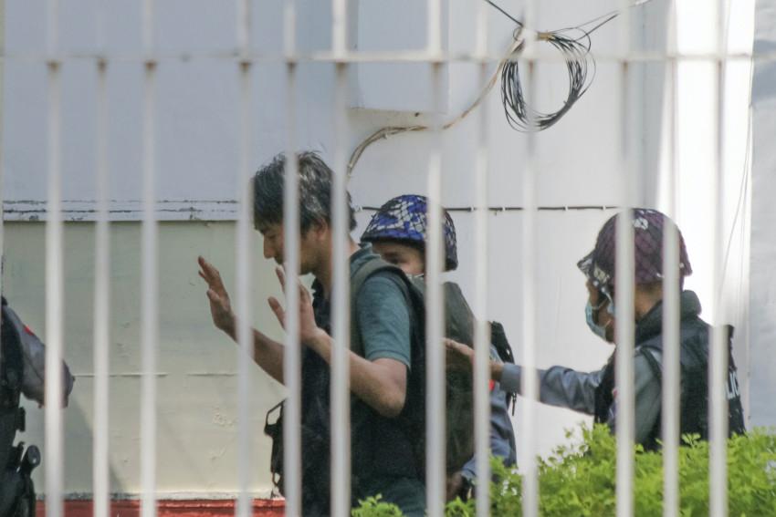 Jurnalis Jepang Ditahan Junta Militer Myanmar