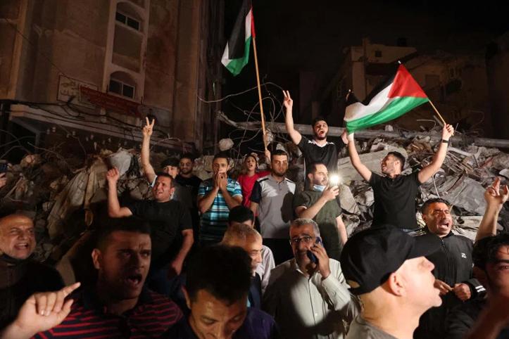 Israel dan Palestina Resmi Lakukan Gencatan Senjata