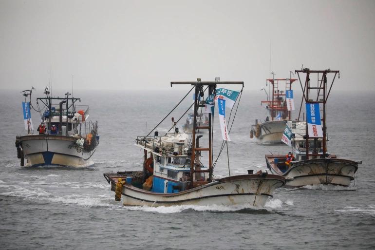 Nelayan Korea Selatan Demo Rencana Pelepasan Air Jepang