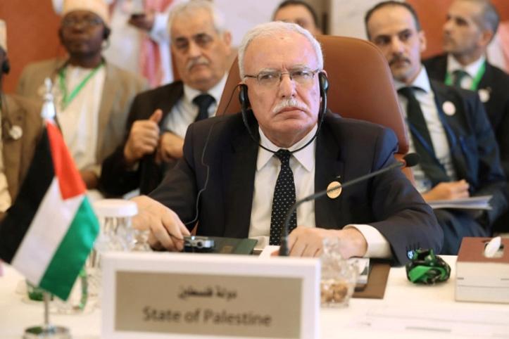 Menlu Palestina Kritik Negara yang Dukung Israel