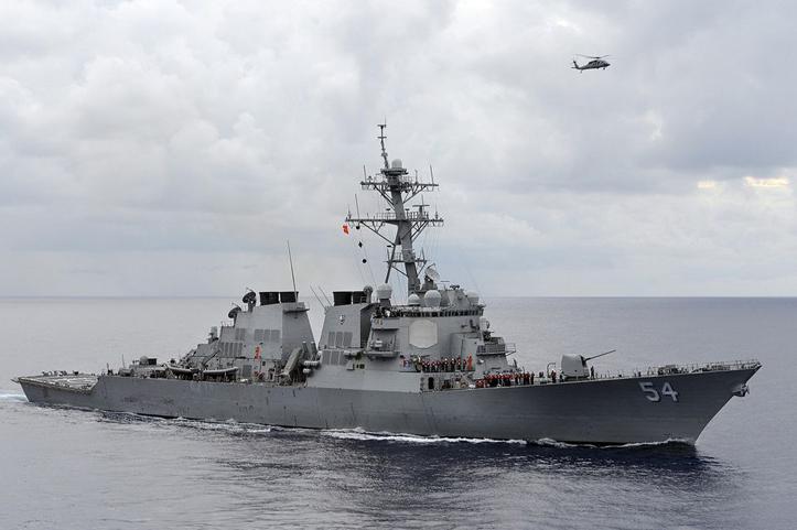Cina Sebut Kapal Perang Amerika Masuk Ke Perairannya