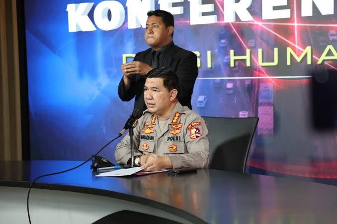Polisi Amankan 8 Orang Terkait Insiden Pembakaran Polsek Candipuro