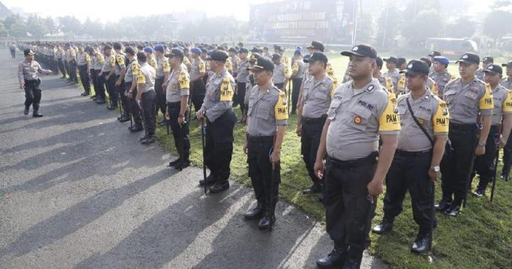Amankan Peringatan Hari Buruh, Polda Jatim Terjunkan Ribuan Personel
