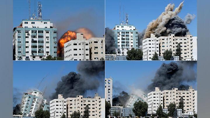 Israel Hancurkan Kantor Associated Press dan Al Jazeera