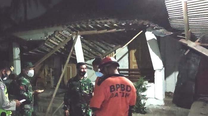 Dampak Gempa Blitar M 5,9 Sejumlah Bangunan di Jatim Rusak