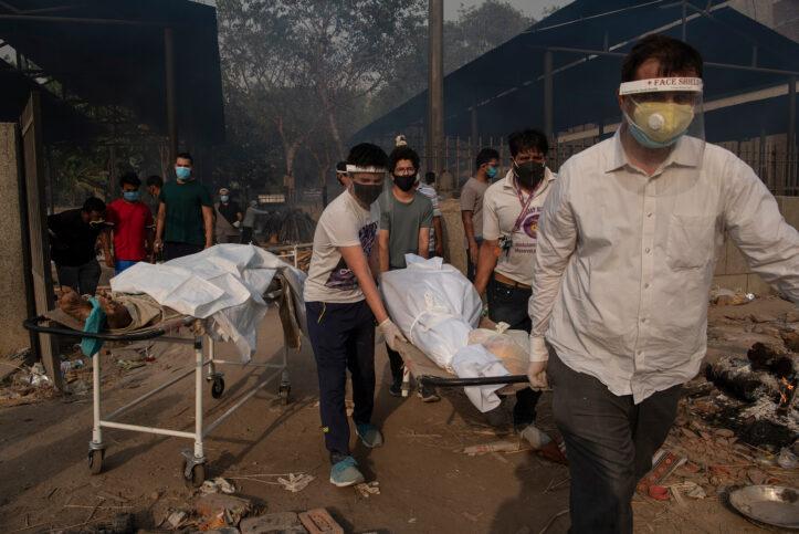 Angka Kasus Covid-19 di India Akan Tembus 20 Juta