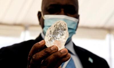 Botswana Berhasil Temukan Berlian Terbesar Ketiga di Dunia
