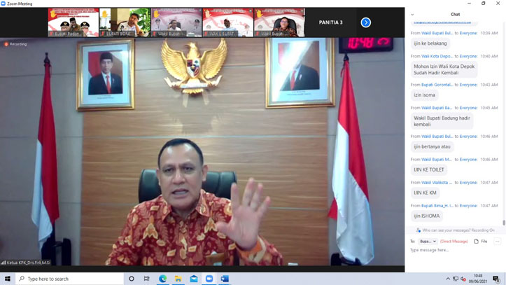 Ketua KPK Ingatkan Kepala Daerah Tak Tergoda Korupsi