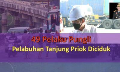 49 Pelaku Pungli Pelabuhan Tanjung Priok Diciduk