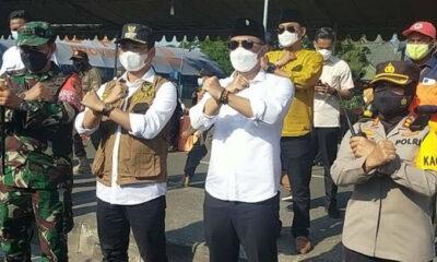 Penanganan COVID-19, Wali Kota Surabaya Berkoordinasi dengan Bupati Bangkalan