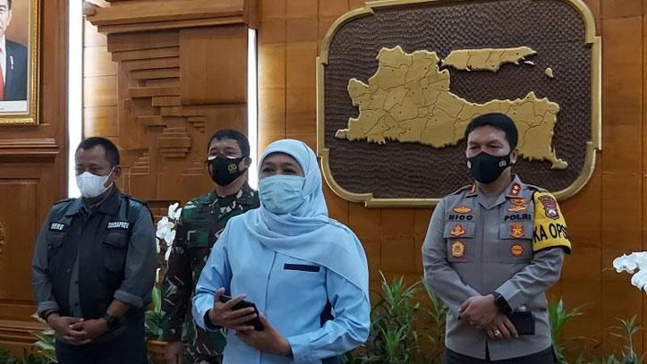 Khofifah Terapkan Mikro Lockdown Daerah Zona Merah di Jatim