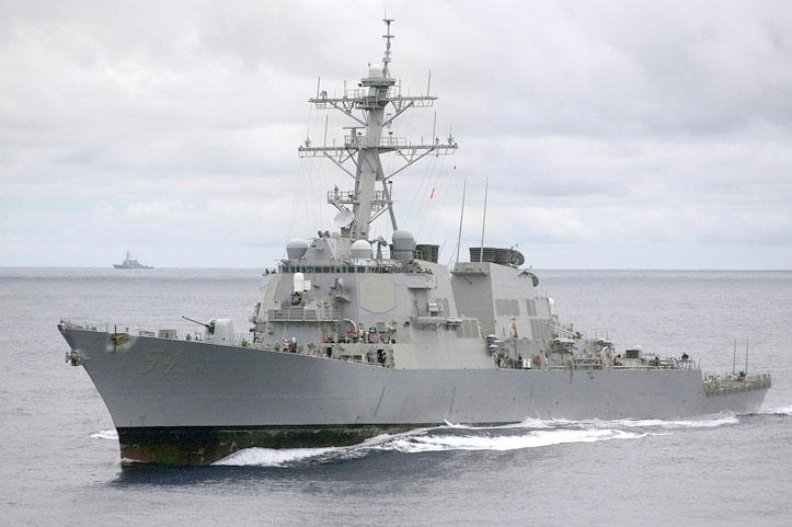 Cina Kutuk Kapal Perang AS yang Melintas di Selat Taiwan