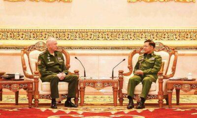 Rusia Perkuat Hubungan Pertahanan dengan Junta Myanmar