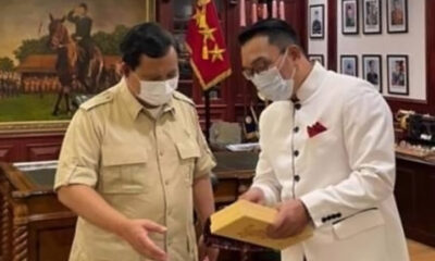 Ridwan Kamil Ungkap Pertemuannya dengan Prabowo Subianto