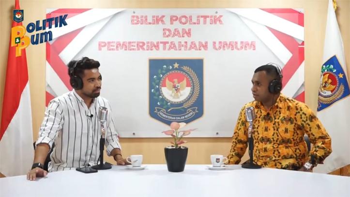 Kemendagri Ajak Tokoh Pemuda Papua Bicara Nasionalisme