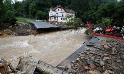 Banjir Bandang di Jerman Barat Tewaskan 81 Orang