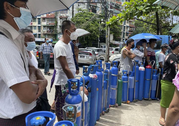 Pandemi Covid-19 di Myanmar Semakin Memburuk