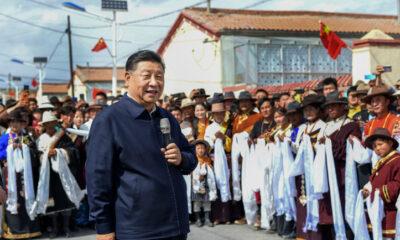 Presiden Cina Xi Jinping Pertama Kali Kunjungi Tibet
